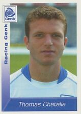 N°110 THOMAS CHATELLE # BELGIQUE KRC.GENK STICKER PANINI FOOTBALL 2003