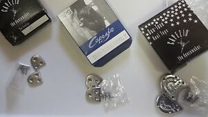 New/Box Capezio Duotone Heel Taps Great Sound Style DT make your shoes tap