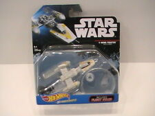 NEW Y-Wing Fighter Gold Leader 2016 Hot Wheels Starships Star Wars