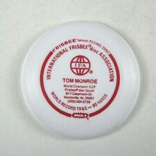 Wham-o Frisbee Mini Tom Monroe Calling Card 4 in IFA  International Disc Red