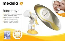 Medela Harmony Manual Breast Pump incl. Calma Dummy NEW + Original Package