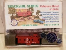 N SCALE TRACKSIDE SERIES CABOOSE MOTEL KIT SKU #10036. B & O. NEW.