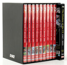 TT ISLE OF MAN SEASON REVIEW PACK - SEASONS 2000 to 2009 BONUS - TT DVD BOX SET