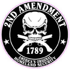 """2nd Amendment Right To Bare Arms Decal 5"""""""