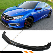 FOR 2016-2017 10TH GEN HONDA CIVIC X FC FRONT BUMPER LIP SPLITTER - JDM VER.2