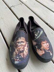 Sperry Star Wars Han Solo & Chewbacca Womens Slip-on Shoes Women Size 7.5