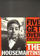 THE HOUSEMARTINS - five get over excited EP 12""