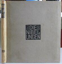 Die Nibelungen.Czeschka. Gerlachs Jugendbücherei 22. Original / Sulamith Wülfing