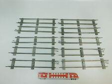 bk325-1 #10x MÄRKLIN escala 0 Vía / piezas de Vía Recto (26 cm) PARA