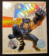 2003 X-MEN Updated Edition The Ultimate Guide by Peter Sanderson HC/DJ VF+/FN+