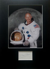 More details for buzz aldrin signed autograph display apollo 11