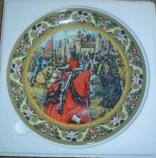 Wedgwood Collectors Plate THE KNIGHTS OF THE ROUND TABLE