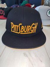 NWOT Pittsburgh Penguins adidas Culture Shadow Script Snapback Adjustable Hat
