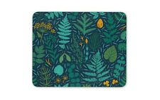 Pretty Woodland Mouse Mat Pad - Fern Leaves Plants Nature Computer Gift #15541