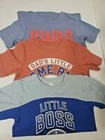 Lot 3 The Children's Place TCP 3T Toddler Boys Shirts Short Sleeve NEW Graphic