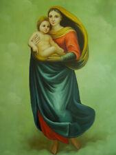Tableau Peinture Vierge à l'Enfant