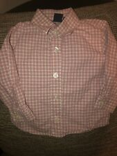 Nautica Baby Boys Long Sleeve Multi-Color Button Up Shirt 12 18 12m 18m 12-18