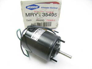 Murray 35495 Heater Blower Motor Wuthout Wheel - Front