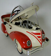 Pedal Car 1940s Ford Hot Rod Rare Vintage Classic A Sport T Midget Metal Model