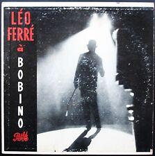 LEO FERRE RARE LP Canadien A BOBINO 14 CHANSONS original PATHE PAM 67.118