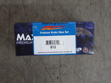 BRAND NEW MAXSTOP PARKING BRAKE SHOES 812 FITS VEHICLES LISTED ON CHART