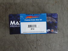 BRAND NEW MAXSTOP REAR PARKING BRAKE SHOES 812 FITS VEHICLES LISTED ON CHART