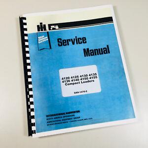 INTERNATIONAL 4120 4125 4130 4135 SKID STEER LOADER SERVICE REPAIR MANUAL IH