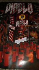 Diablo Black Cat Fireworks Poster for Collectors