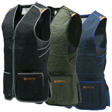 Beretta GT083 Trap Shooting Vest Black or Green or Blue New Version