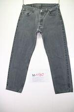 Levi's 517 boyfriend verkürzt (cod. M1180) Gr. 50 W36 L32 Jeans grau/schwarz