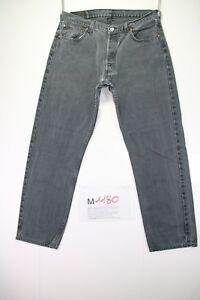 Levi's 517 Boyfriend Raccourci (Code M1180) Taille 50 W36 L32 Jeans Gris/Noir