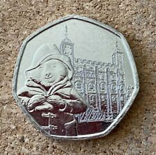 Paddington Bear At The Tower Of London 50p coin (limited edition/very rare)