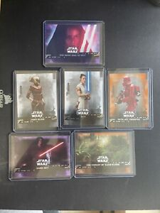 Lot of Star Wars The Rise Of Skywalker Trading Cards