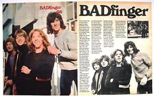 THE BADFINGER   PETER HAM TOM EVANS   RARE  CUTTING CLIPPING PIN UP POSTER
