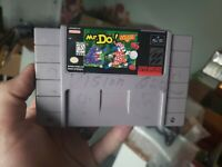 Mr. Do! - Super Nintendo SNES Game - Tested Working & Authentic!