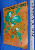 1971 Natural Life Style 2 Organic Gardening Hippie Underground Magazine Book VTG
