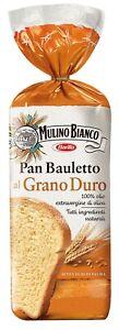 PAN BAULETTO GRANO DURO E OLIO EVO MULINO BIANCO PANE A FETTE TIPO 0 VEGAN 400g