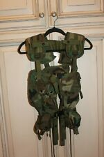 Specialty Plastic Products US Tactical Load Bearing Vest Green Camo - Looks New!