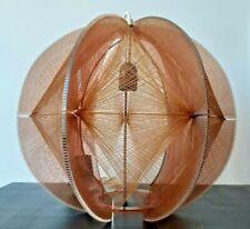 Lustre suspension design Paul Secon pour Sompex 1970