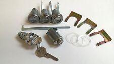 1955-1957 Chevy Belair 210 150 Lock Cylinder Set Ignition Door Trunk Glove Box