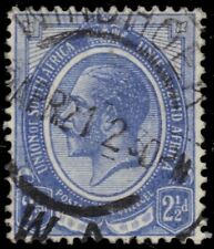 "SOUTH AFRICA 6 (SG7) - King George V ""1913 Ultramarine"" (pa82473) ""Windhoek"""