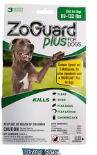 ZoGuard Plus Promika 89-132 Lb Kills Fleas and Ticks For Dogs 3 Month Supply
