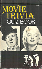 MOVIE TRIVIA QUIZ BOOK - MARILYN MONROE COVER - FUN FACTS ABOUT MOVIES & ACTORS