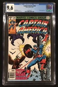 CAPTAIN AMERICA #238 ~CGC 9.6 WHITE Pages ~ JOHN BYRNE Cover ~ Nick Fury App.