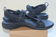 Mens Sole Orthopedic Gladiator Shape Metatarsal Support Sandals Raven Sz 11 New