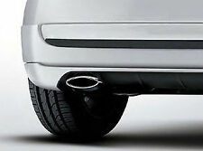 Genuine Fiat 500 Exhaust Tailpipe Chrome Trim Genuine Accessory 50901688 NEW