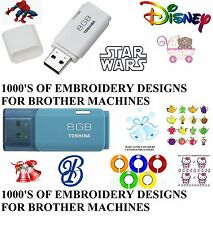 95,000 EMBROIDERY DESIGNS ON USB PES FORMAT BROTHER BABYLOCK BERNINA MACHINES