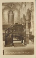 Dunfermline Abbey Pulpit Real Photo