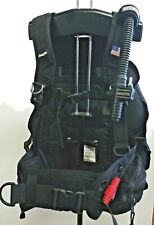 New listing Bcd Zeagle Stiletto Wt Integrated Bcd with rear trim pockets Size L Scubadiving