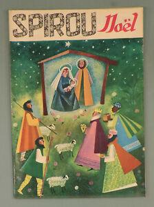 Spirou 975 20 Decembre 1956 Calendrier 1957 Franquin Peyo et pub Graton